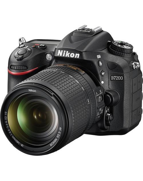 Nikon D7200 Camera(18mm-140mm)