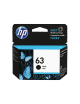 HP 63 Black Cartridge