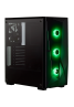 SPEC DELTA RGB Tempered Glass Mid-Tower ATX Gaming Case  Black