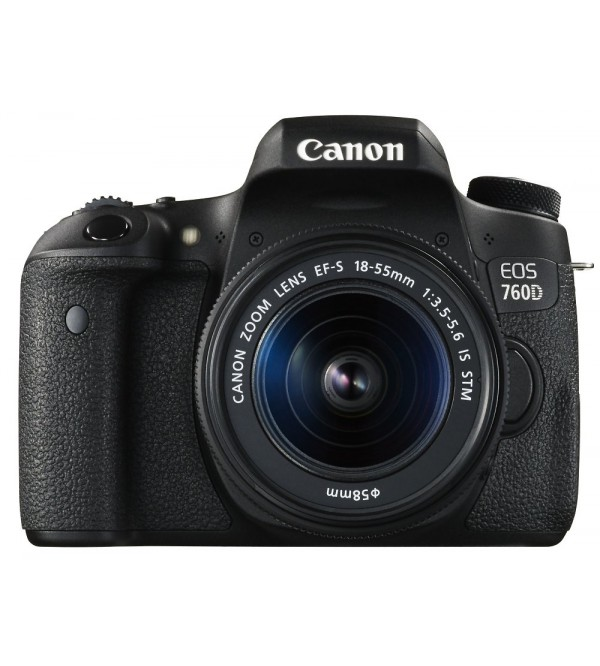 Canon Eos 750d Dslr Camera With 18 55mm