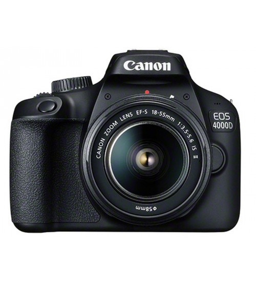 Canon EOS 4000D DSLR Camera with 18-55 Lens