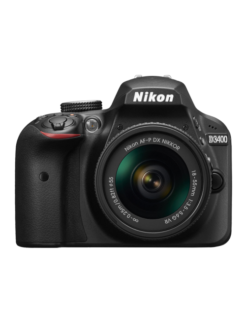 Nikon D3400  DSLR Camera with 18-55mm VR Lens Kit