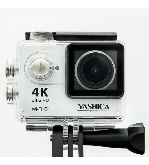 Yashica YAC-340 Action Camera - 4k @ 30fps