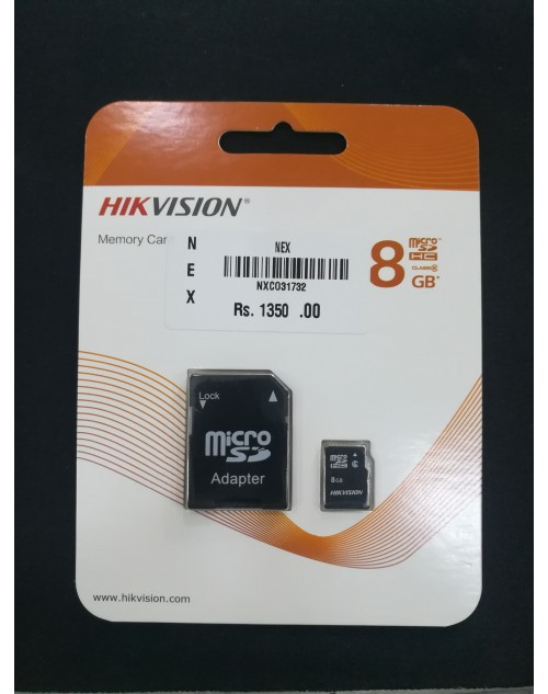 HIKVISION 8GB Micro SD