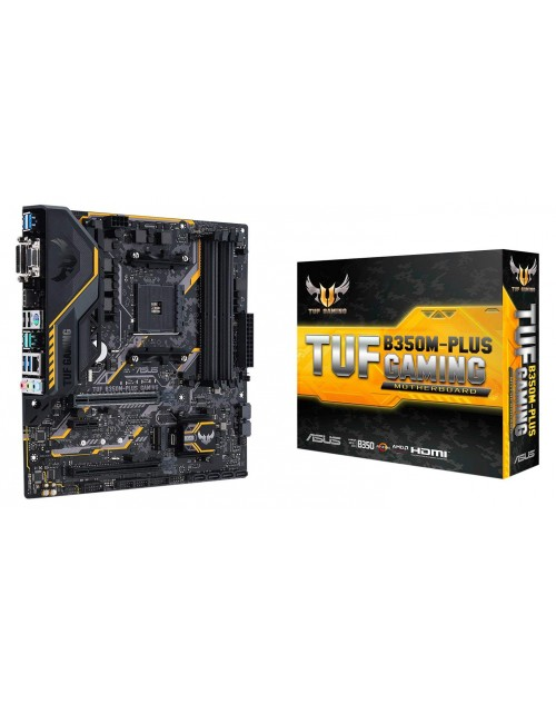 ASUS TUF B350M-PLUS GAMING MICRO ATX MOTHERBOARD