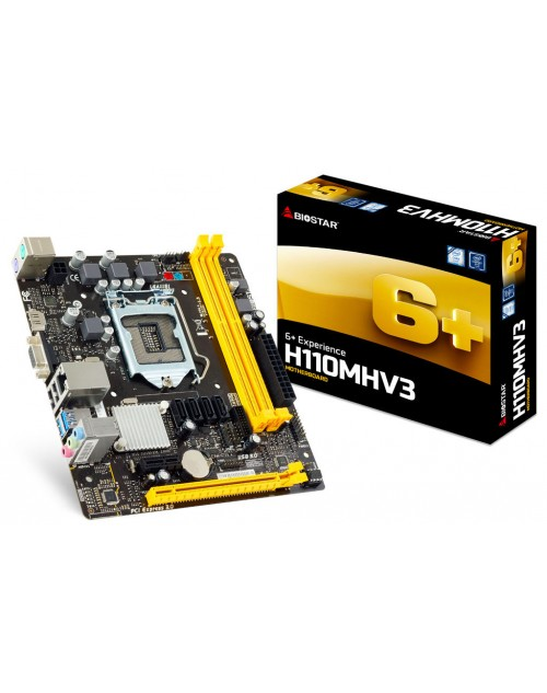 Biostar H-110MHV3 DDR3 Mother Board