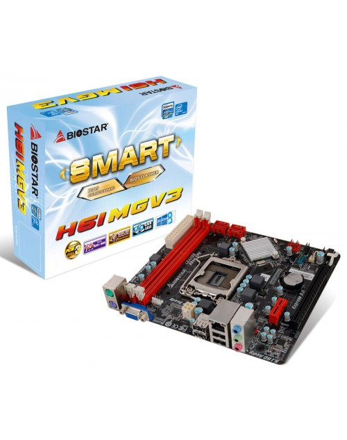 Biostar H61MGV3 mother board
