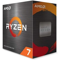 AMD Ryzen 7 5800X Cores, 16 Threads, Up to 4.7GHz