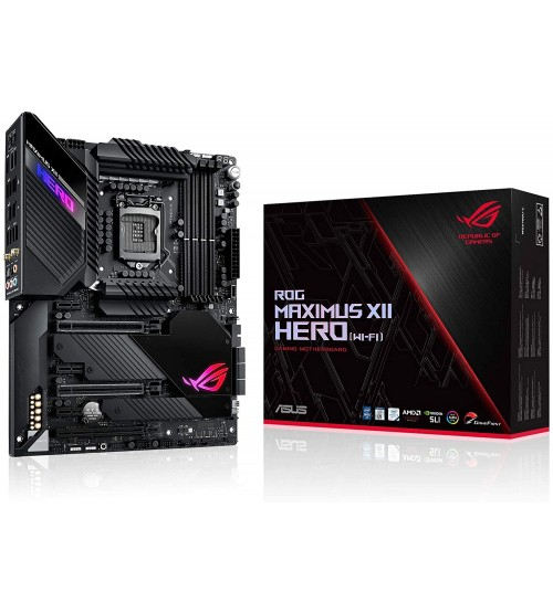 ASUS ROG MAXIMUS XII HERO WI-FI 10TH GEN INTEL Z490 CHIPSET