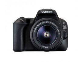 Canon EOS 200D DSLR Camera with Built-in WIFI