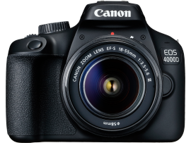 Canon EOS 4000D DSLR Camera with Built-in WIFI