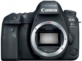 Canon EOS 6D Mark II DSLR Camera Body – Wi-Fi Enabled