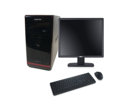 Used Core 2 Duo Desktop PC Full Set