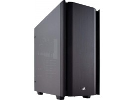Corsair Obsidian Series 500D Premium Mid-Tower Case Smoked Tempered Glass Aluminum Trim