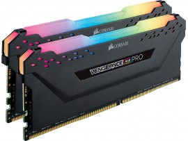 CORSAIR VENGEANCE RGB PRO 16GB (2x8GB) DDR4 3600MHz Desktop RAM Black