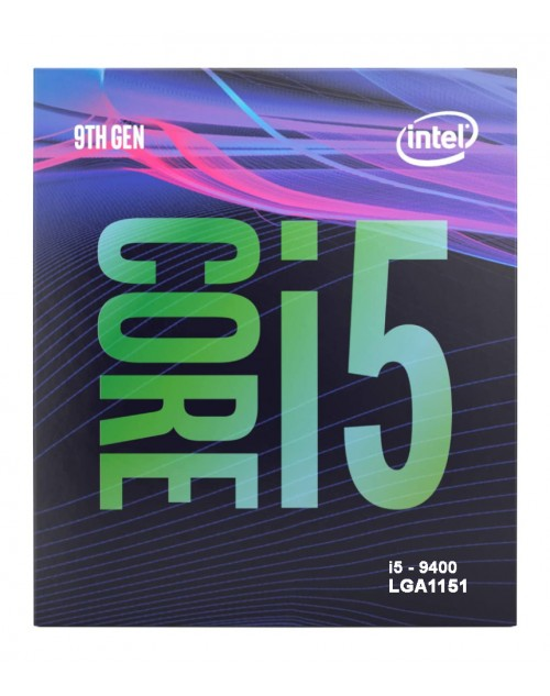 Intel® Core™ i5-9400 Processor 9M Cache, up to 4.10 GHz
