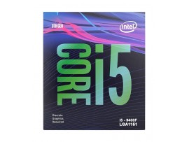 Intel® Core™ i5-9400F Processor 9M Cache, up to 4.10 GHz