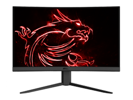 "MSI G Series Optix G24C4 24"" Curved FHD 144Hz Gaming Monitor"