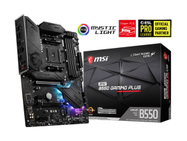 MSI MPG B550 GAMING PLUS AMD RYZEN