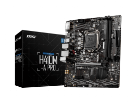 MSI H410M-A-PRO 10TH GEN INTEL