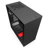 NZXT H510 Compact Mid Tower Black And Red Case