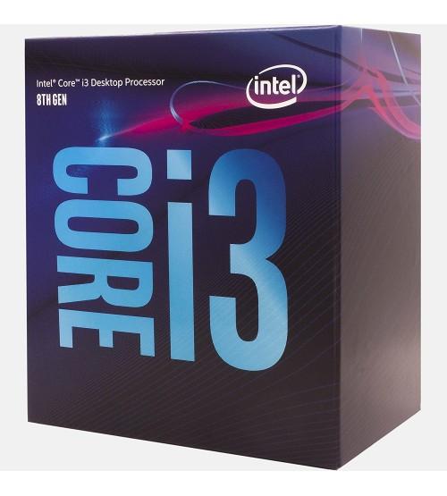 Intel® Core™ i3-8100 Processor 6M Cache, 3.60 GHz [8th Generation]