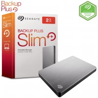 Seagate 2TB Backup Plus Slim Portable Hard Disk