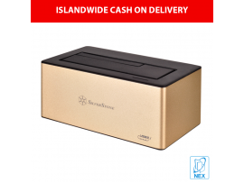 """Silverstone TS11 USB C Docking Station for  2.5"""" or 3.5"""" SATA drives"""