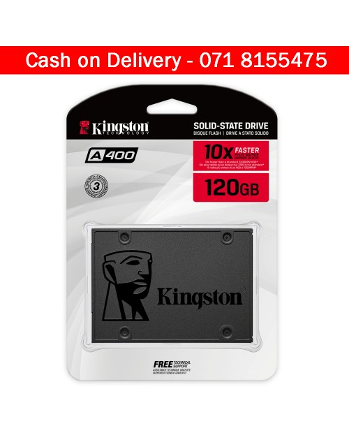 Kingston 120GB A400 SATA SSD