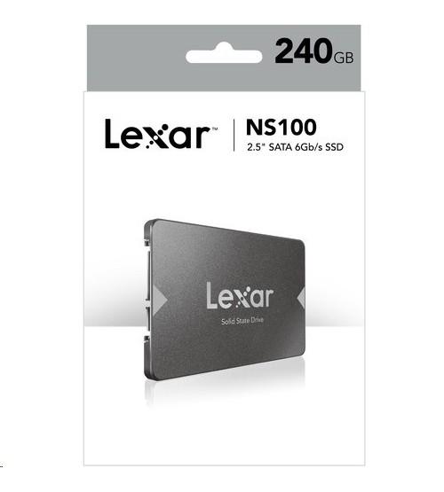 Lexar® 240GB SSD NS10 2.5 SATA III 6Gbps
