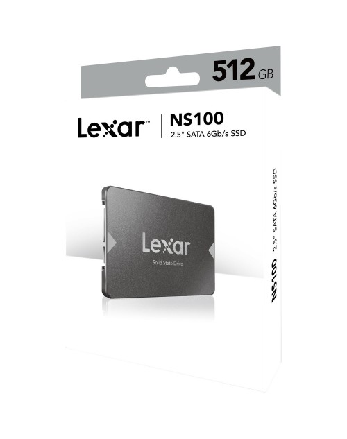 Lexar® 512GB SSD NS100 2.5 SATA III 6Gbps