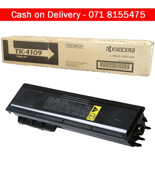 Kyocera TK-4109 Toner Cartridge For  TASKalfa 1800 and 2200