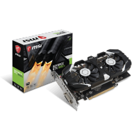 4GB nvidia GeForce GTX 1050 Ti 4GT OC MSI VGA