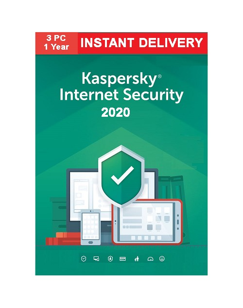 Kaspasky Internet Security 2020 (One Year Three User)