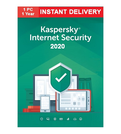 Kaspasky Internet Security 2020 (One Year One User)